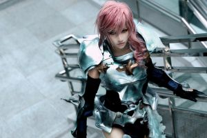 Lightning_Final Fantasy XIII-2 by AMPLE-COSPLAY