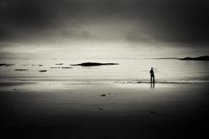 By the sea. by Treke