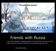 Friends With Russia...and Sweden? by peppermix14