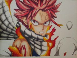 Natsu Dragneel by narutolover39