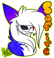 Safire Badge by Naheska