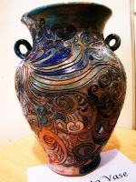 Scrafitto Vase 1 by BoYoON