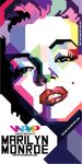 marilyn monroe in wpap by dhe-art