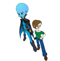 Megamind and Roxanne by Liana-Wolfe