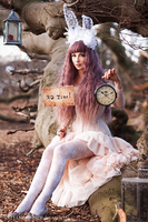 Follow the Rabbit (Alice in Crazyland) by Pinkabsinthe
