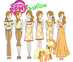 My Little Pony fashion: Applejack by Willemijn1991