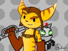 Ratchet and Clank by 9Andrew5