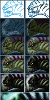 Sea Troll Step-By-Step by Kmadden2004