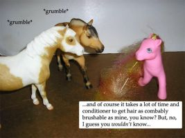 Breyer vs. MLP - Brushable by Marbletoast