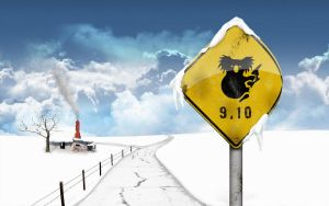 Wallpapers Karmic_sign_winter_by_alkore31