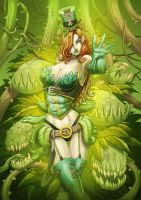 POISON IVY steampunk color by Vinz-el-Tabanas