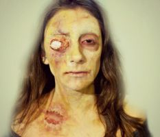 Zombie FX Makeup by CamilaCostaArt