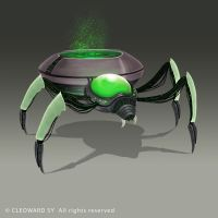 Spiderling by Curare07