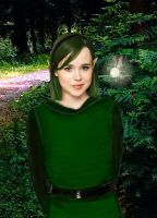 Ellen Page as Saria by mental-sex