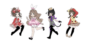 Character Adoptables by Sheepieh