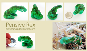 Pensive Rex by Bittythings