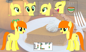 Pumpkin Spice ~Official Character Ref~ by Winter-Wondermare