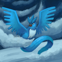Day 5: Favourite legendary Pokemon by Wooded-Wolf
