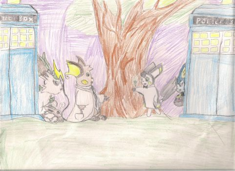 Doctor Ross-Family Vacation by MichiganWolf