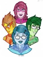 Alpha Kids - Colored by penut-butter-goddess