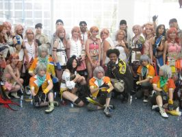 Final Fantasy XIII Gathering by SapphireEagle