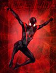 Amazing Spiderman Miles Morales by Rene-L