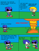 Killing Time with Metal Sonic by thekirbykrisis