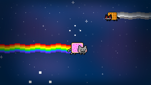 NyanCat Screensaver by paloiu222