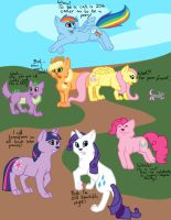 My little Pony as cats owo by Hoffnungsstern