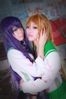 H.O.T.D||Saeko and Rei by sosochan1314