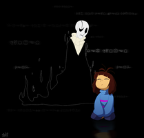 Undertale - Who's that man in my dreams? by TC-96
