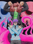 Mystery Skulls Ghost - LaDue and Hydra by Agent-LaDue