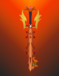 Day of Reckoning (DayBreaker Keyblade) by aniamalman