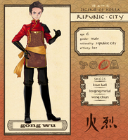 Republic City: Gong Wu by umbrellaguns