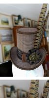 The Duchess' Riding Hat Mini Top Hat by ImperialFiddlesticks