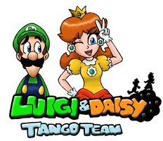 Luigi and Daisy : Tango Team by Kenichi-Shinigami