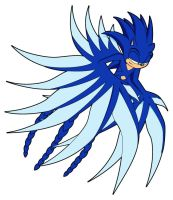 Sonic In Wyvern Disguise by Az-The-Dragon