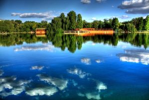 lake hdr 3 by lucifersdream