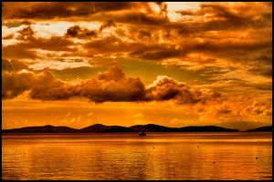 sea and clouds hdr2 by firatoz