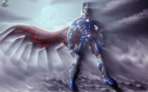 Super Iron BatMan by Unreal-Forever