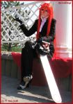 Grell and him death scythe by Prince-Lelouch