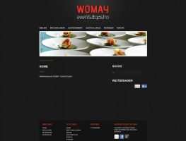 Womay -Catering Website by Goerni