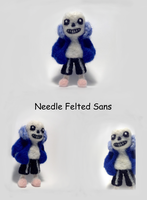 [Needle Felting] Sans from Undertale by Arceryse