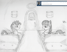 Ask Dusky 013 - Train Ride by KuroiTsubasaTenshi