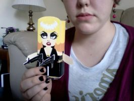 Paper Toy - Lady Gaga by keepinitreel78