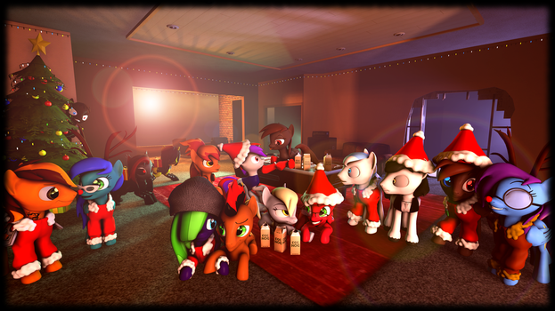 Christmas Party 1 by Project-88