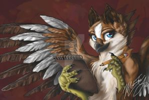 Petra the Griffen/gryphon by PetraTheGryphon