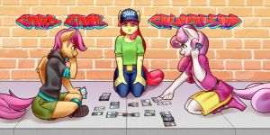 Card Game Crusaders Banner by MrWestCoast