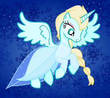 Frozen: MLP Elsa by Color-Clouds
