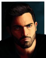 Derek Hale - his eyes by TomsGG